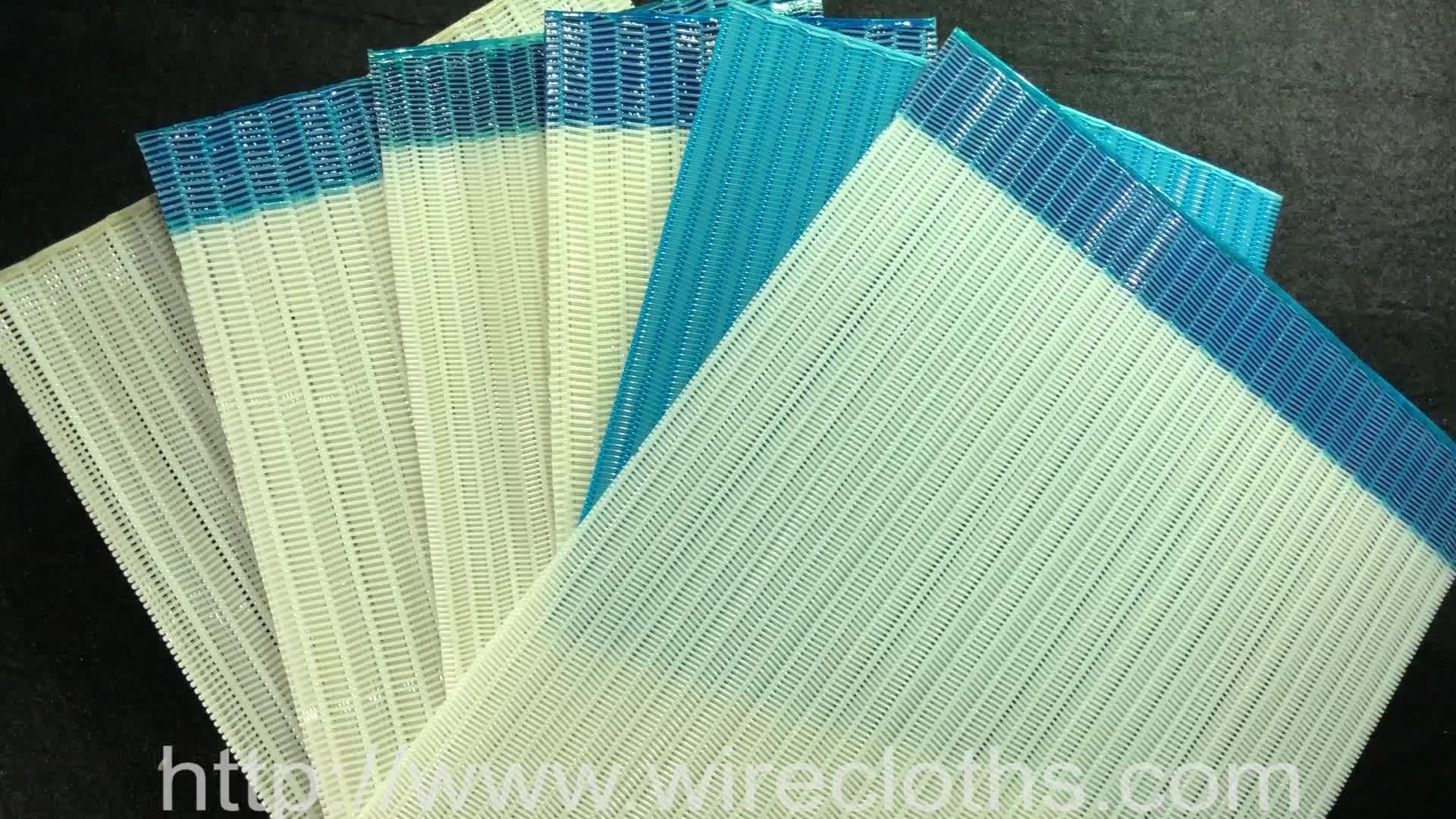 Cinto de secador de poliéster para fábrica de papel