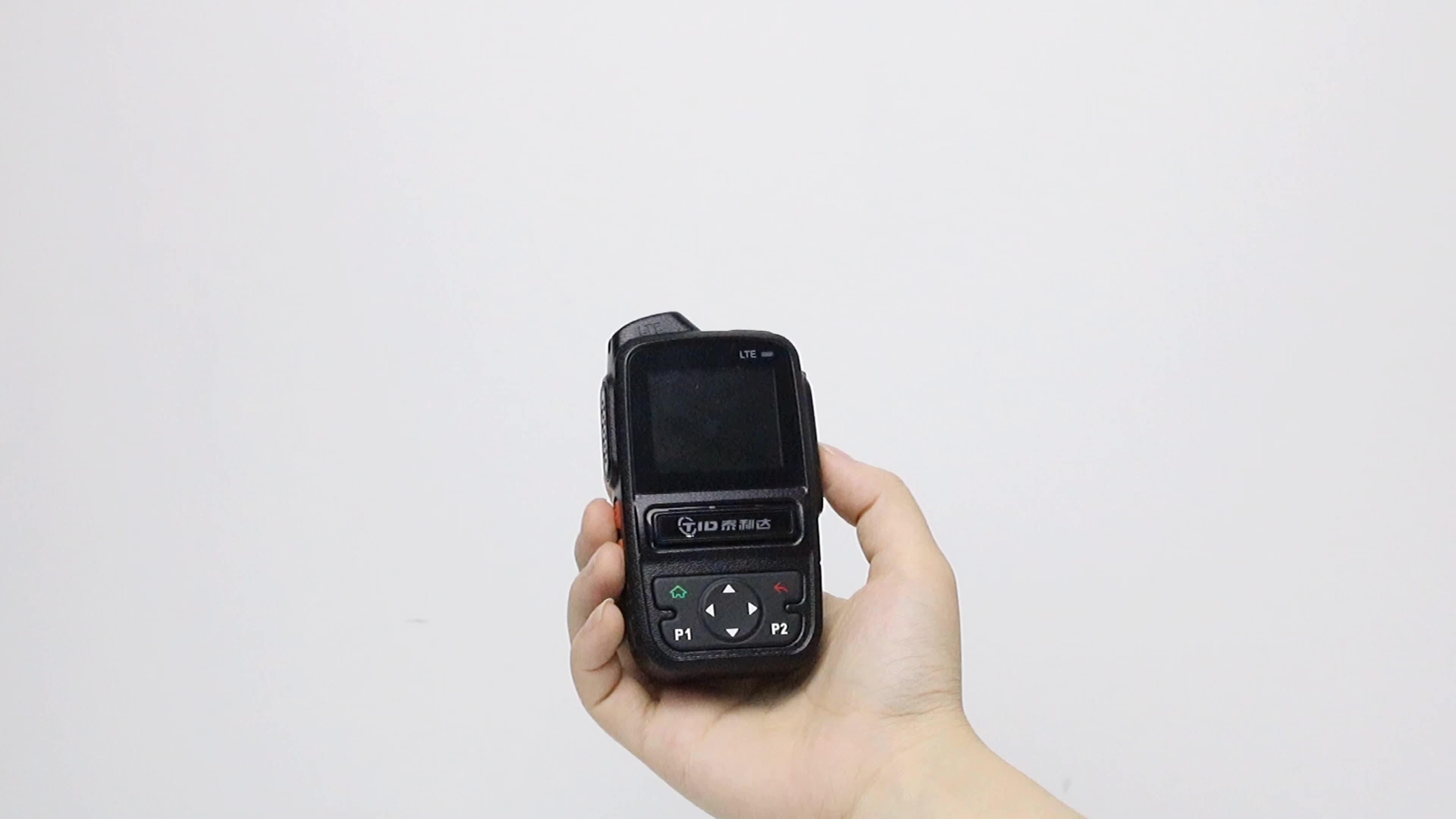 TID LTE WCDMA GSM שתי דרך רדיו dual SIM כרטיס IP ווקי טוקי 3G 4G PTT poc רדיו תקשורת