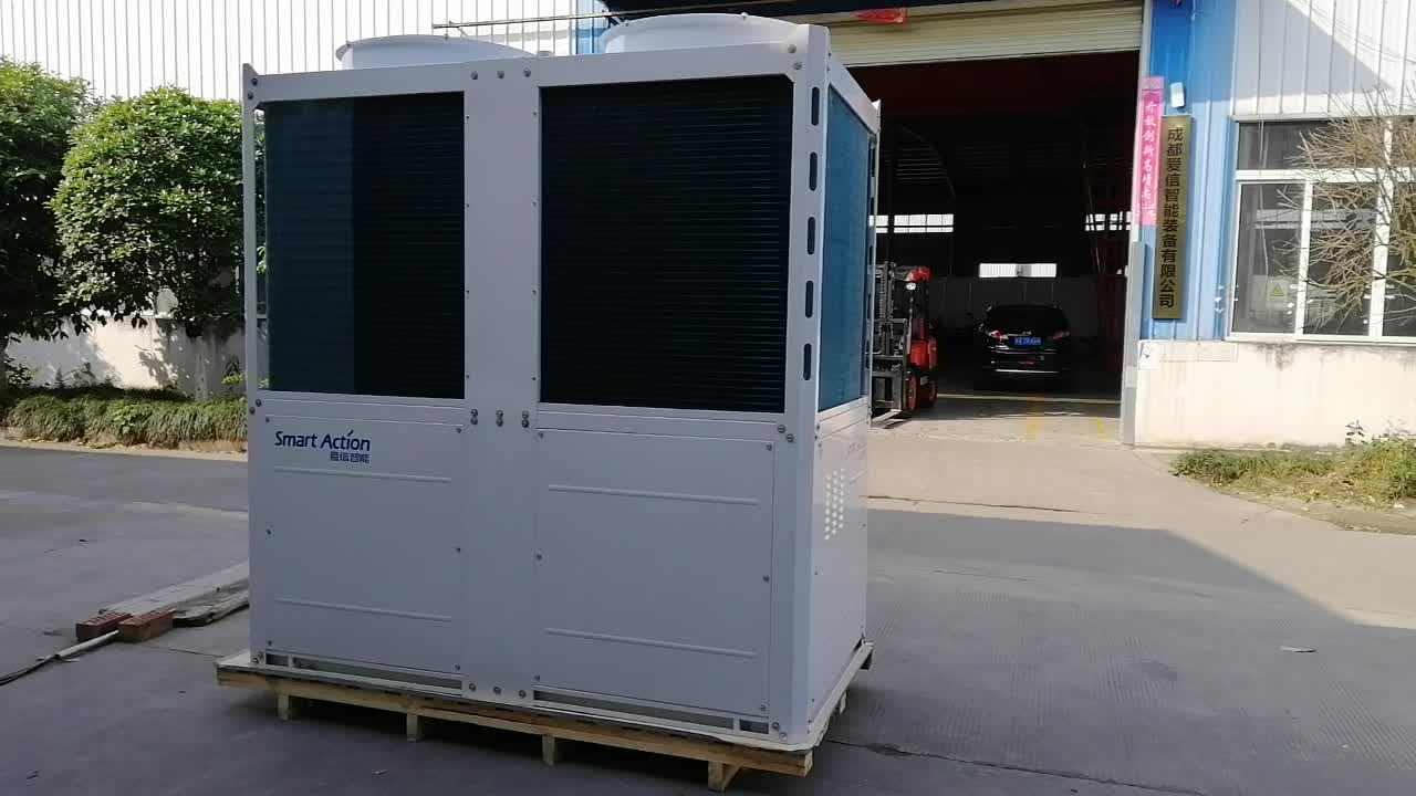 80kW GHP natural gas heat pump air conditioner driven by gas engine