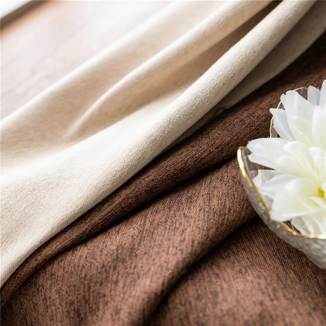 ZHONGHUA Hohe Qualität Shaoxing Hause Textil Markrt Bereit Made Blackout Vorhänge Und Stoff