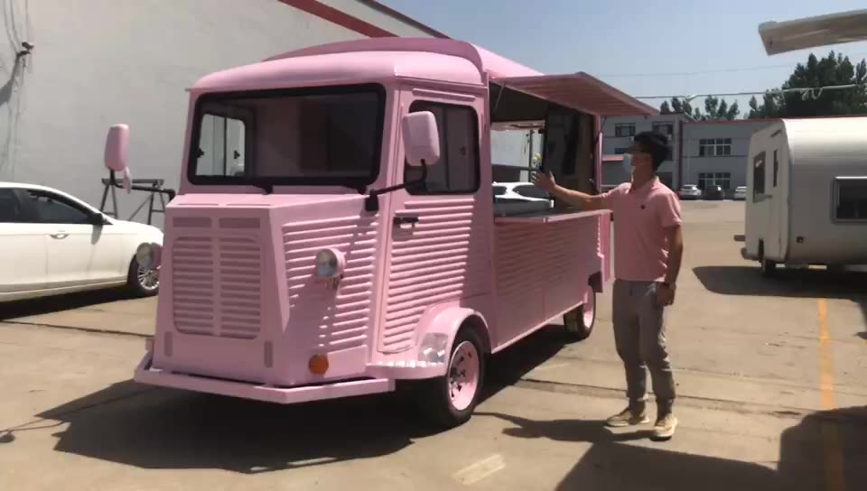 Coffee vintage Citroen food truck for sale