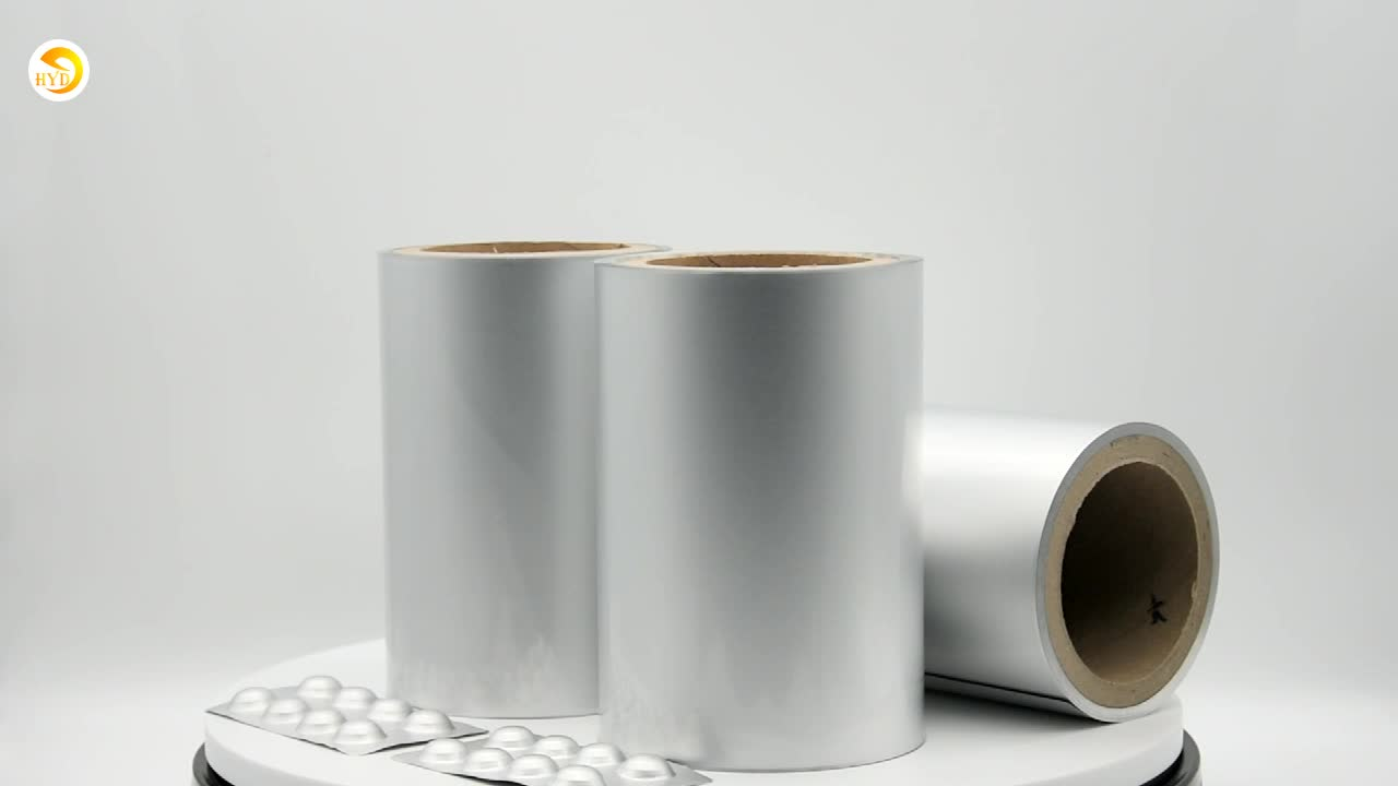 pharmaceutical  use cold forming aluminum  foil roll