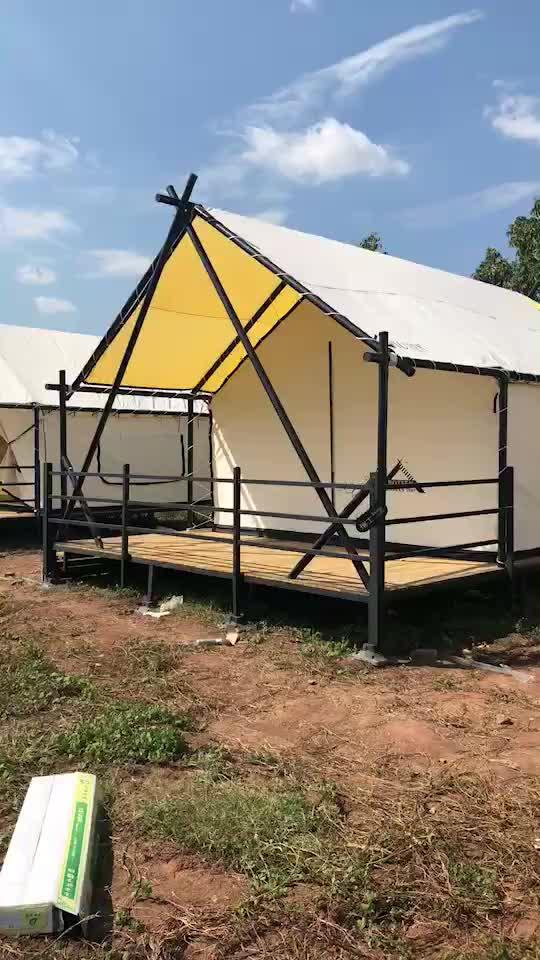 خيمة تخييم فاخرة مضادة للماء ومضادة للحريق ومتينة بسعر خاص لعام 2019