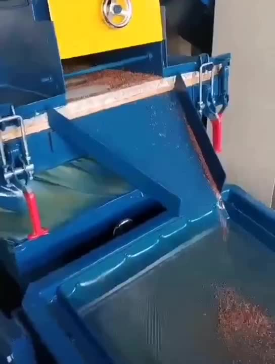 De cobre de chatarra de aluminio de alambre de vibración separador