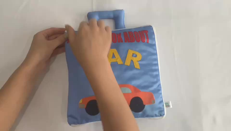 Amazon my best book about car baby infant plush soft my quiet book for education