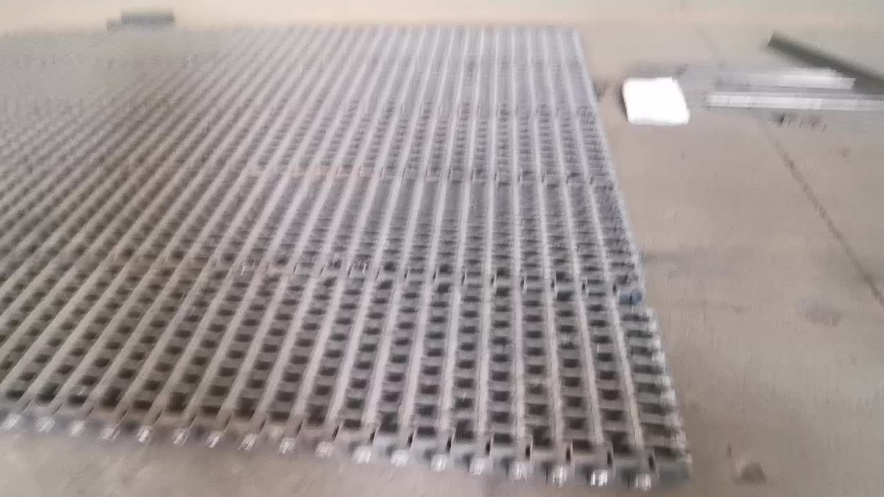 Rice Husk Fired Sintering Machine Cast Iron Chain Grate Stoker Bar for Boiler Auxiliaries