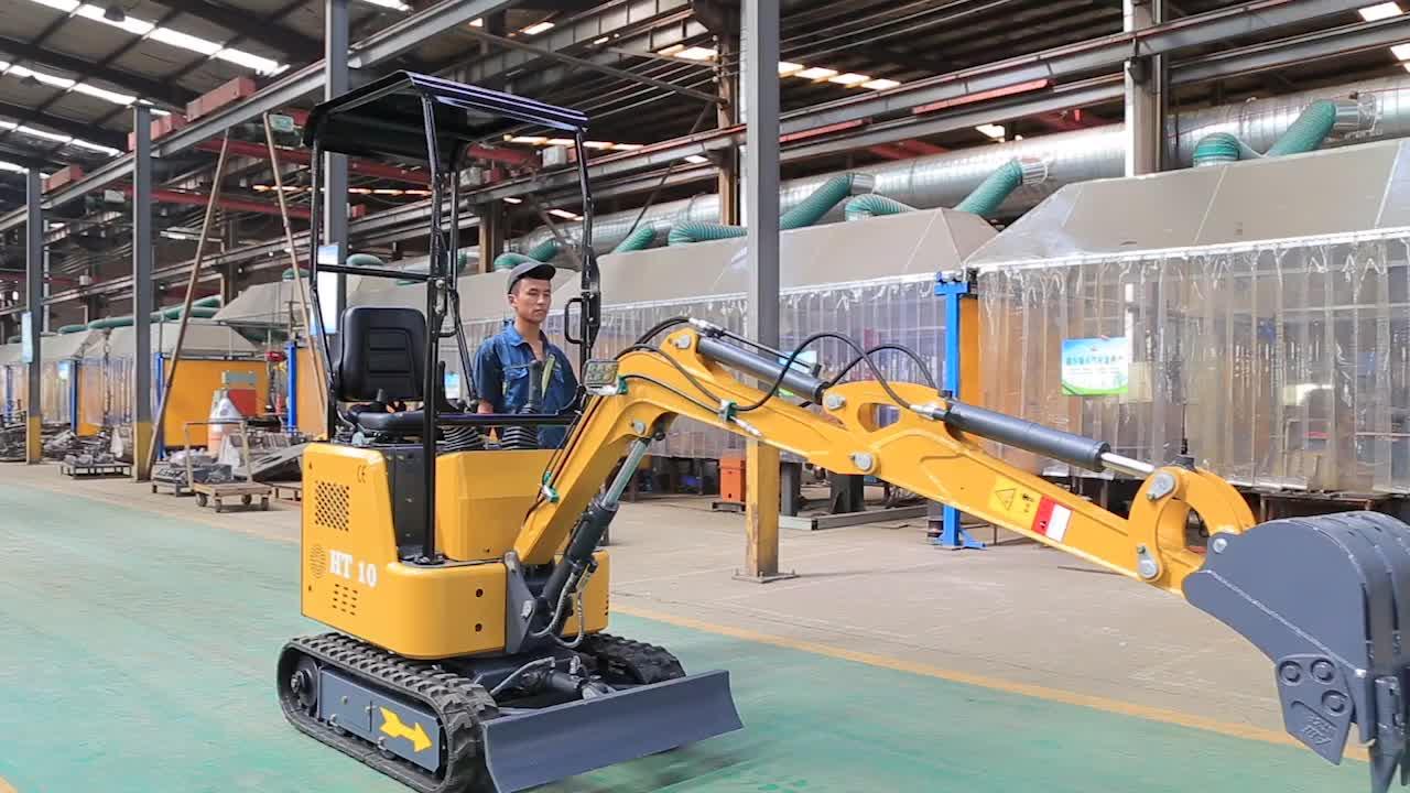 CE EPA Approved Popular 1T  Mini Excavator