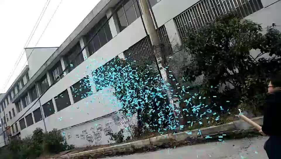 New design ROSA ou AZUL género revela o Partido Poppers confete