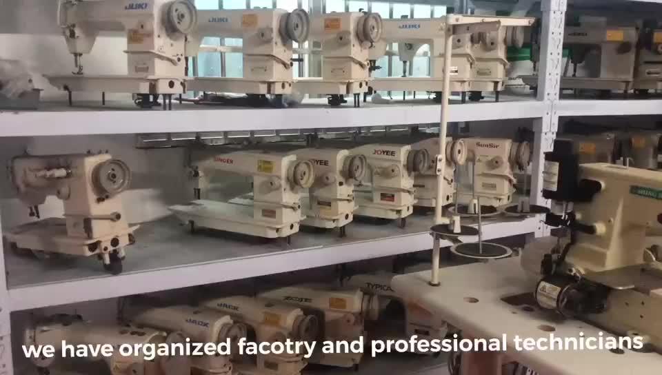 Buona condizione Jack 8700 impuntura macchina da cucire industriali usati