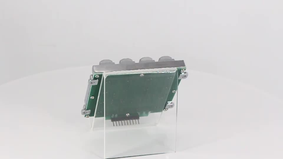 16 keys door lock keypad/waterproof numeric keypad/security LED keypad for access control