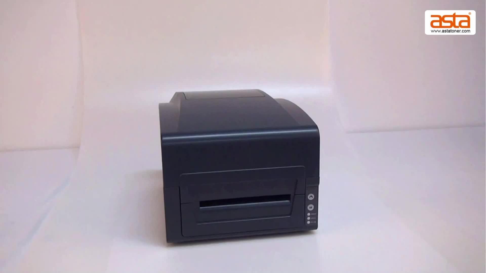 Asta High Quality 6 Inch Thermal Transfer Printer Sticker Label Printer
