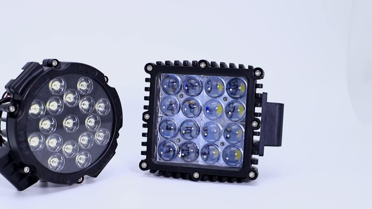 Xe tải làm việc đèn 27 wát led ánh sáng cho xe gắn máy