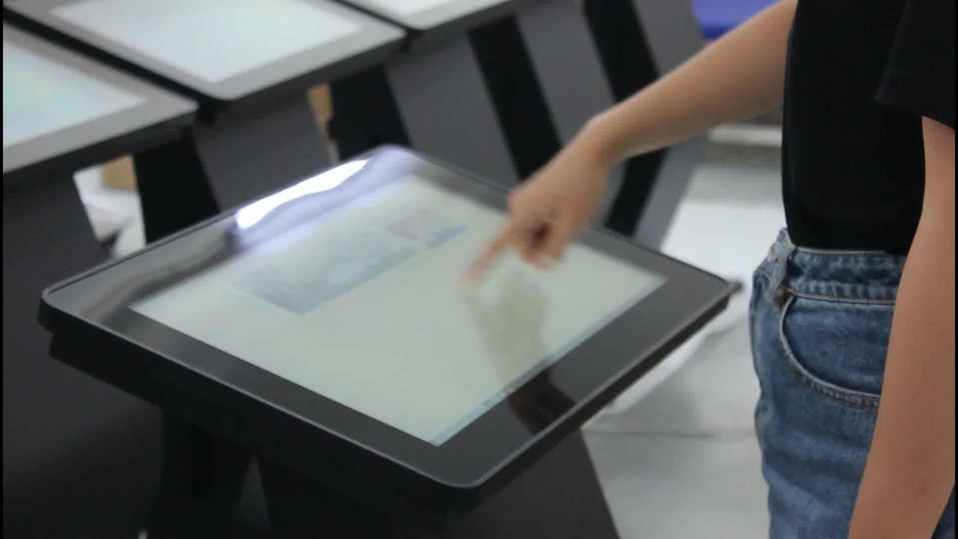 43 ''bağımsız bilgi kiosk/masaüstü dokunmatik kiosk