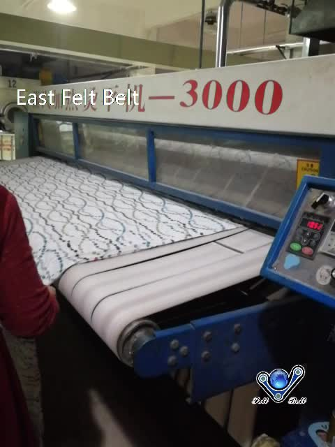 Used flatwork ironer padding 대 한 인 calender 기계