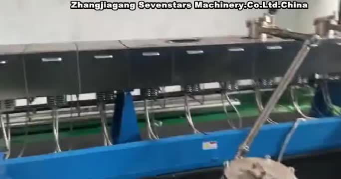 Hot Sale Twin Screw Extruder Recycling PET Machine Plastic Pelletizing Machine With Factory Price