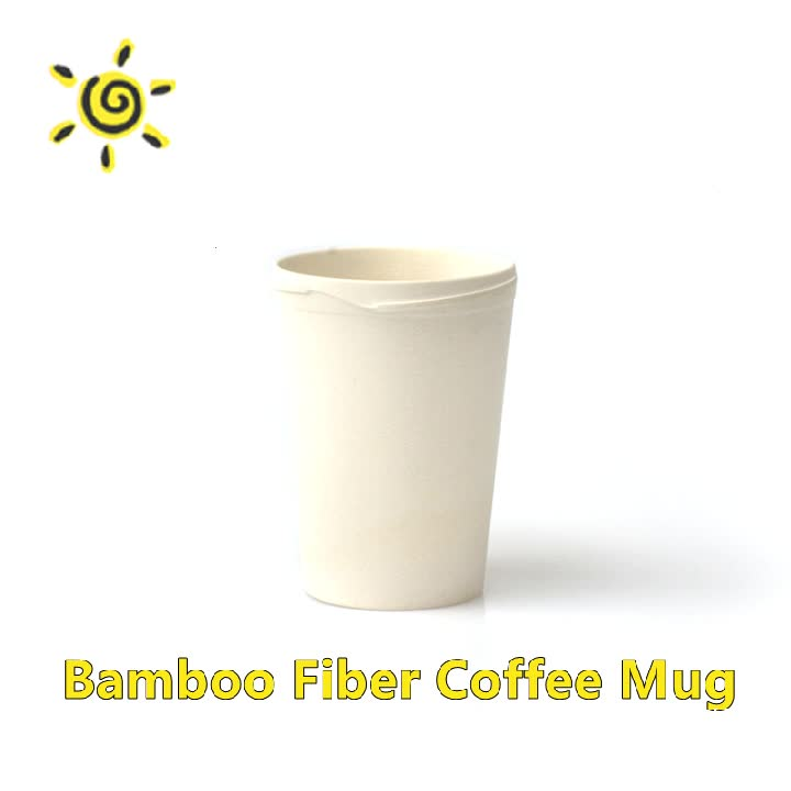 New Design Hot Selling Bamboo Thermo Bamboo Fibre French Coffee Cups