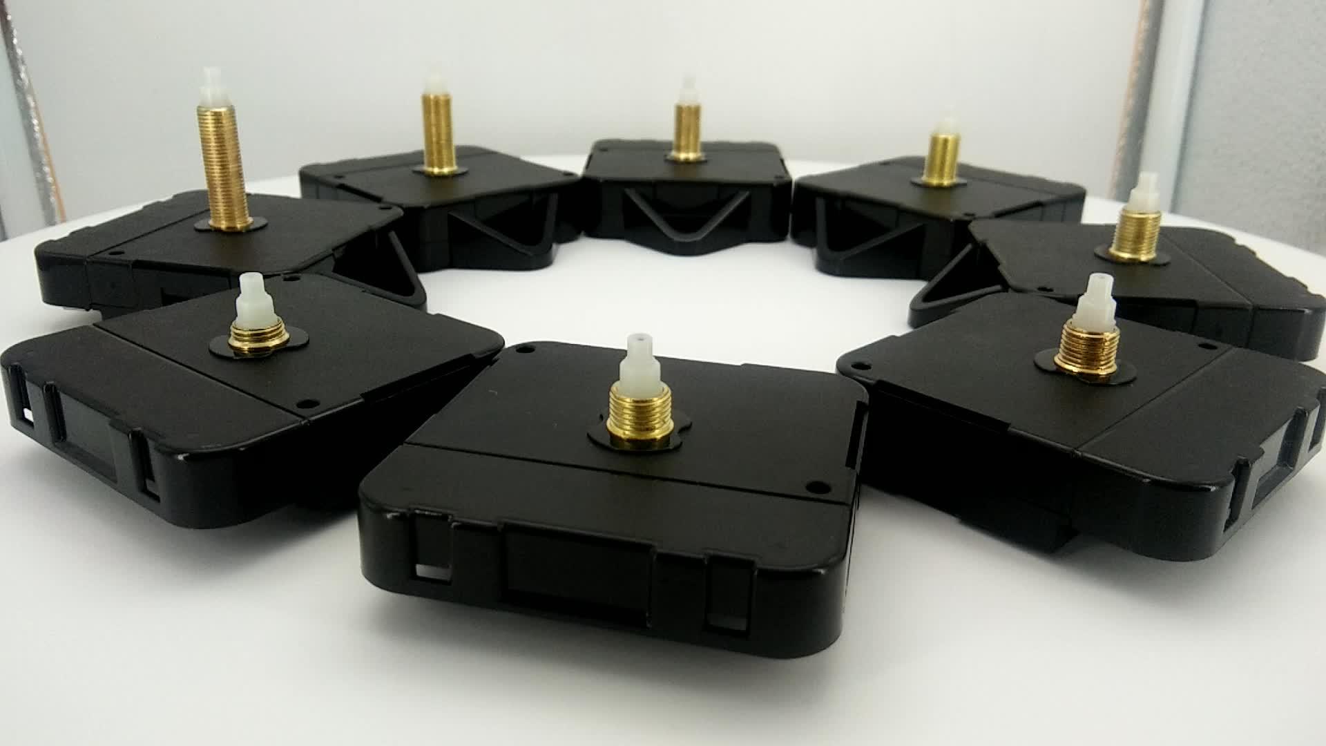 Mecanismo de movimento do relógio relógio de quartzo máquina de step com o gancho para DIY relógio de parede JH1668HSA-11-13-14.5mm