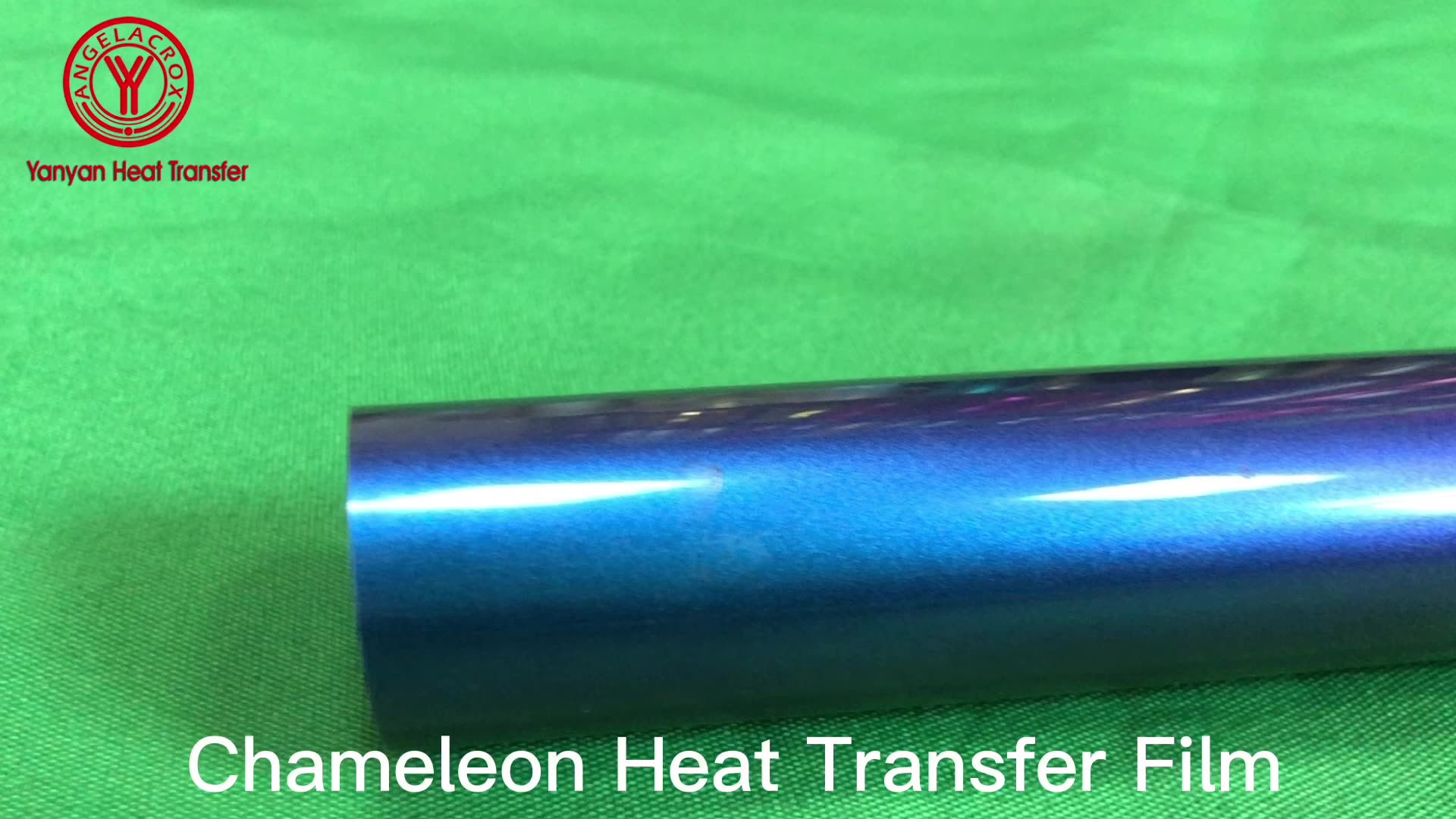 Chameleon Heat Transfer Film Discolored HTV Vinyl optics PU  camouflage Anole  Heat Transfer vinylfor clothes wholesale