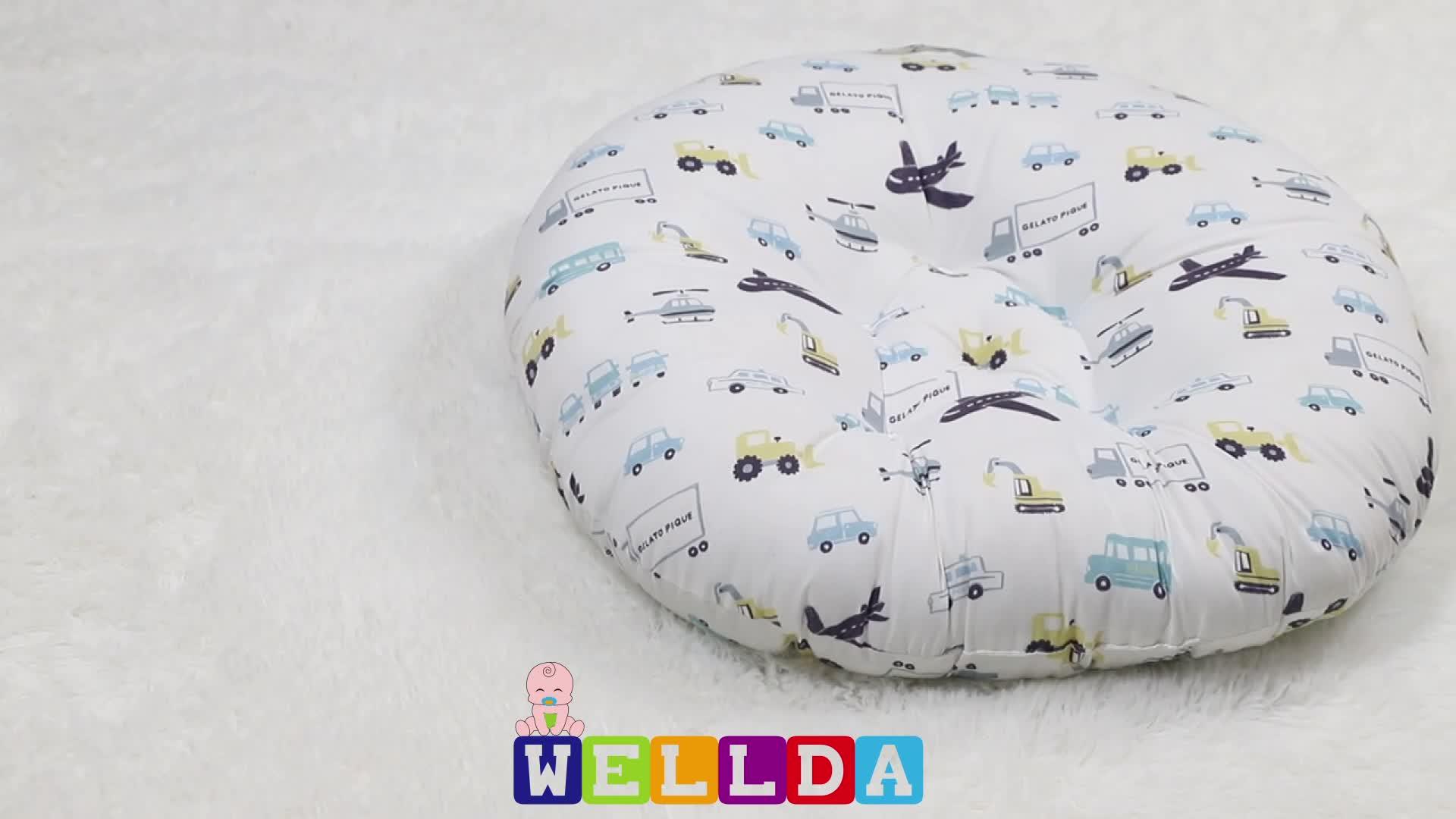 Wasserdichte tragbare baby neugeborenen liege baby schlaf kissen mit abdeckung