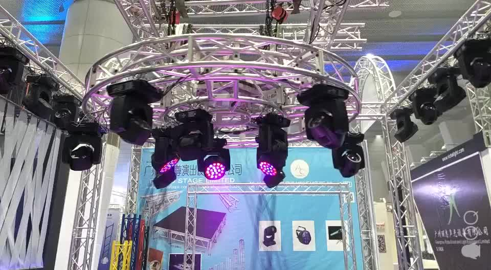 Global  cheap used DJ stand trade show steel  display design Exhibit booth lighting truss stage truss aluminum truss display