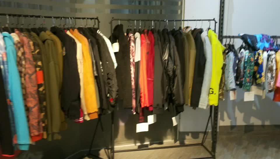 Baru Yang Sangat Baik Cut Custom Jaket Pria Blok Warna Denim Mantel Besar Mantel Panjang Jaket Parka