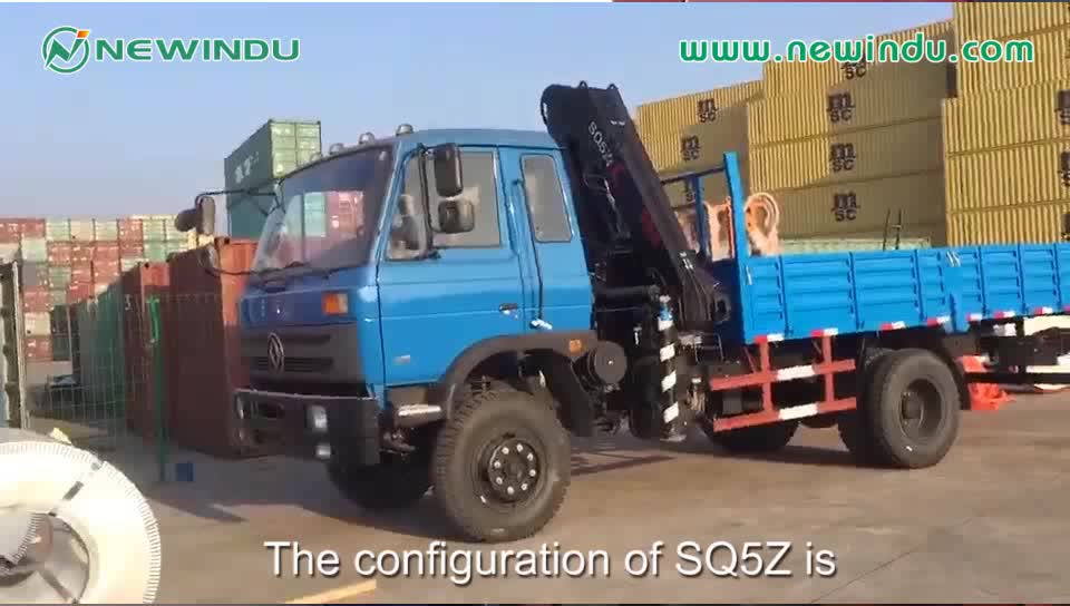 25 ton New Condition SQ25ZK6Q Truck Mounted Crane