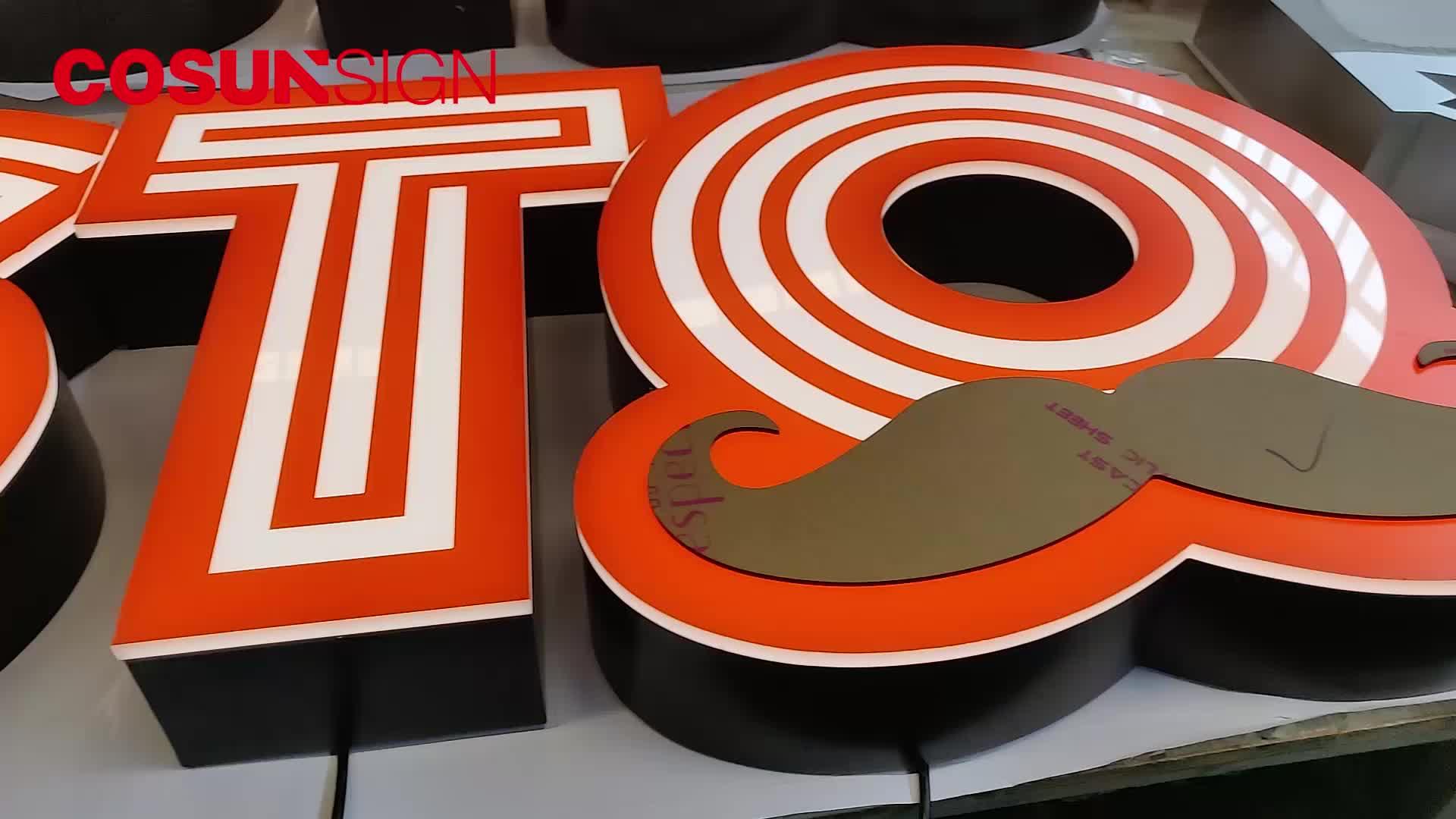 acrylic alphabet small acrylic channel letter
