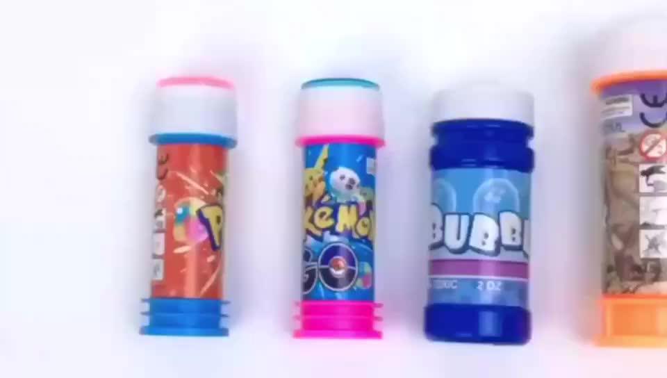 Juguetes de plástico de jabón soplado pistola de burbujas para niños