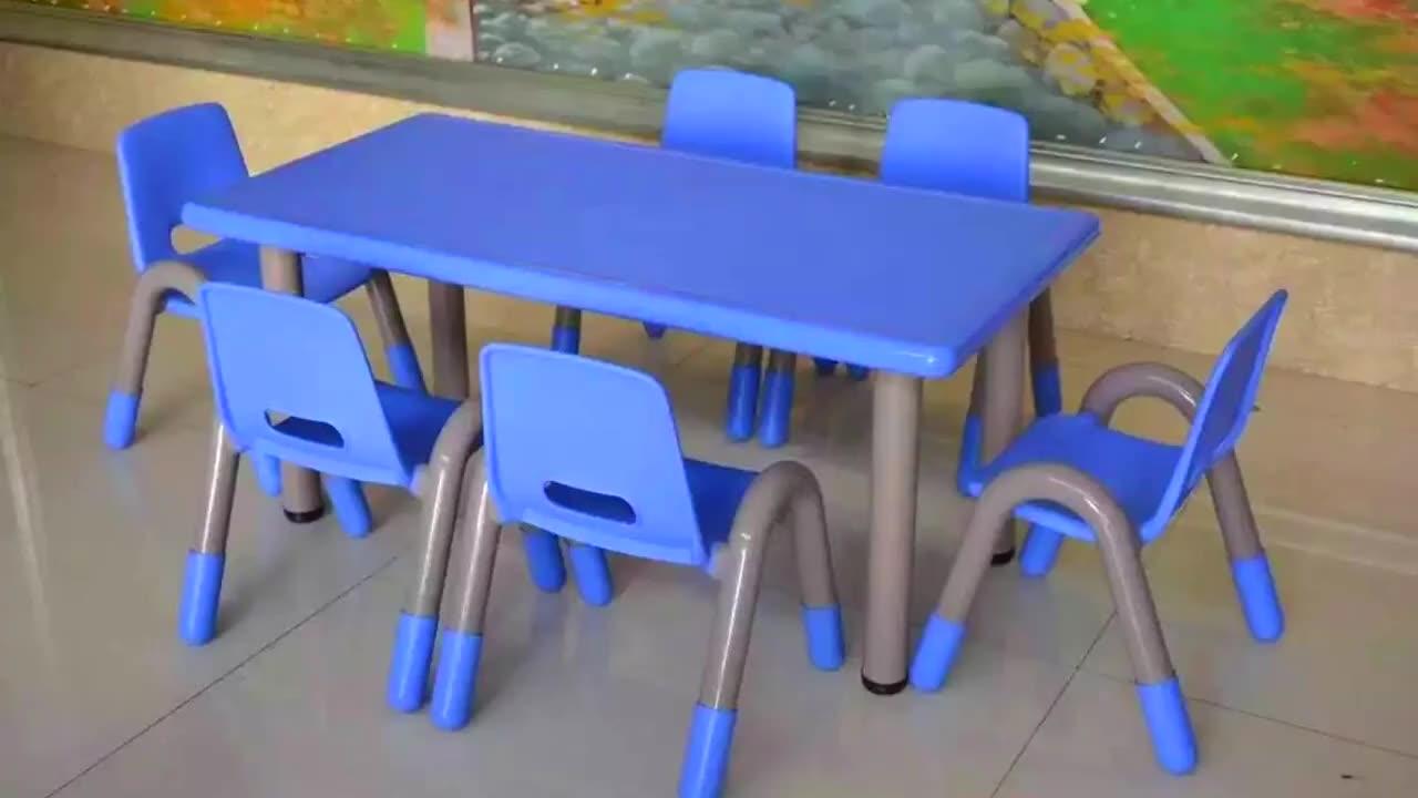 QIXIN PLAY Pemasok Furnitur Kelas Taman Kanak-kanak, Meja Plastik dan Kursi Anak Malaysia untuk Anak-anak