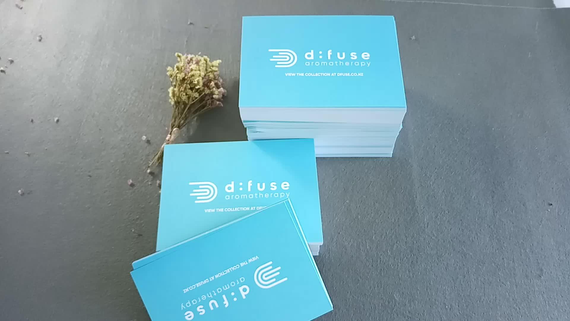 Fábrica de impressão offset cartão de papel todas as ocasiões de aniversário personalizado saudação cartão unocated