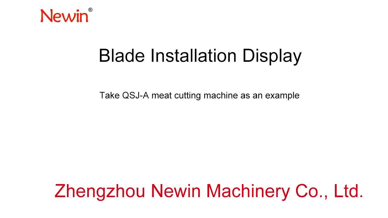2.5-20mm Blade for Meat cutting machine QV QSJ-B model