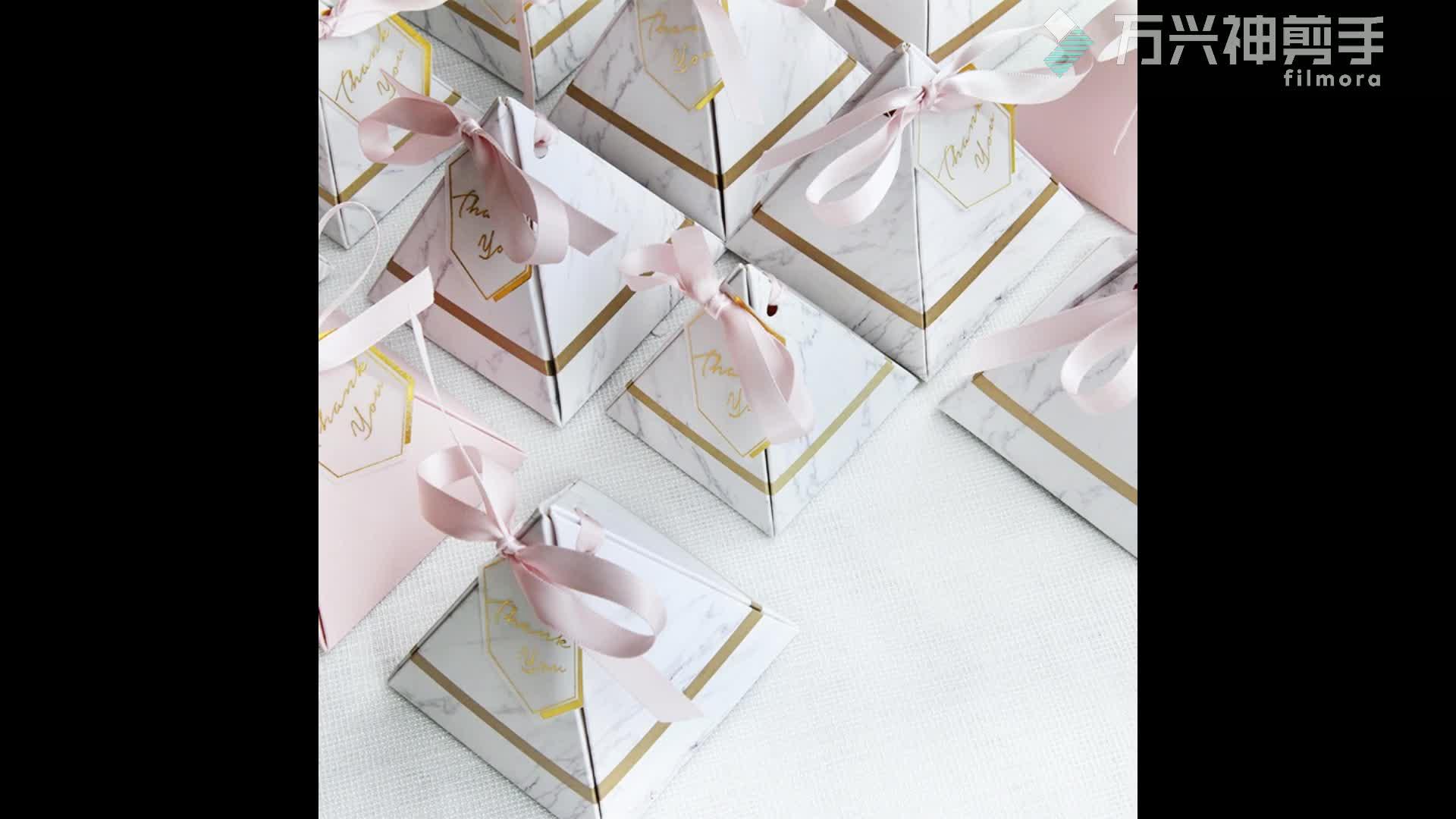 Romantische Wedding Party Favor Dozen voor Gift cupcake romantische papier craft wedding dozen snoep