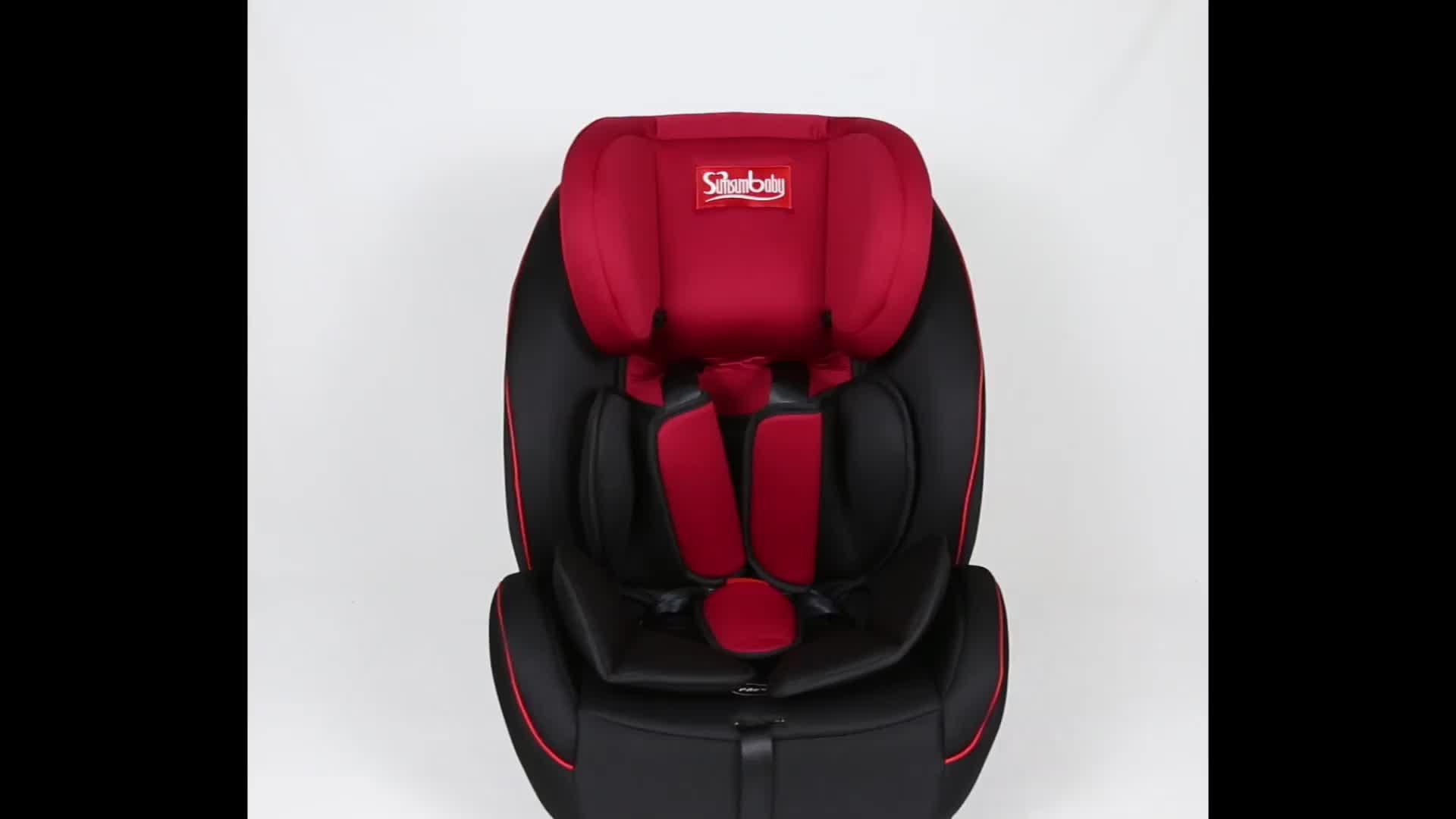 Opvouwbare Reizen Veiligheid Peuter Rear Facing Peuter Convertible Booster Stoel Kind Zuigeling Kids Baby-autozitje