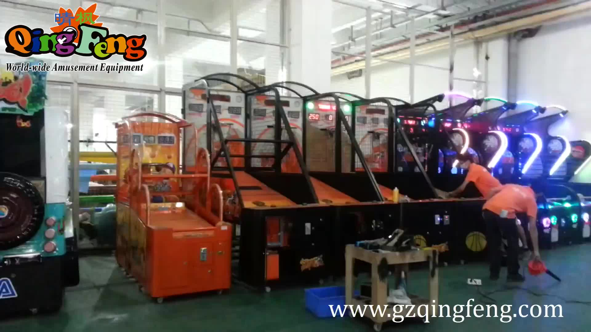 hot sale indoor coin operated crazy hoop street basketball arcade game machine new basketball game machine