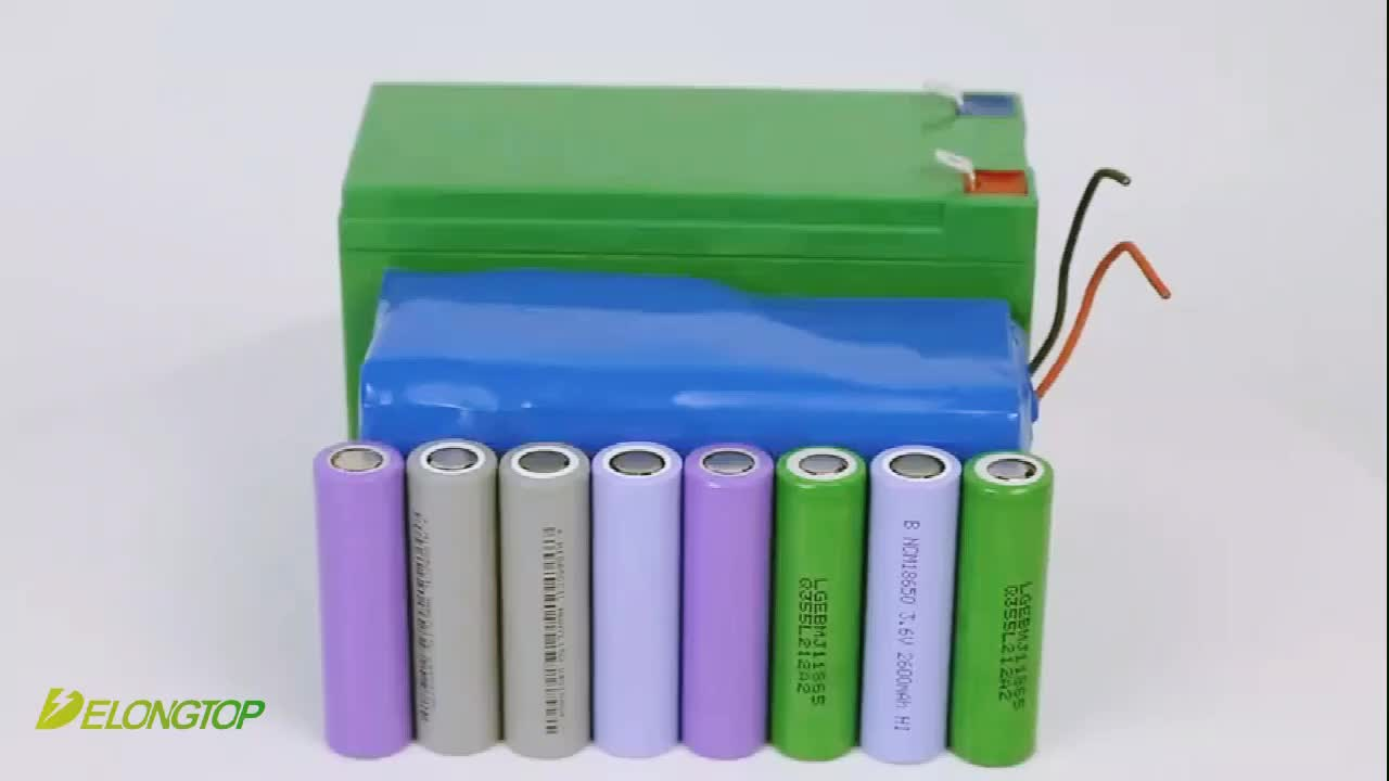 e-Scooters 10S4P 18650 cells 36V 10AH/12ah lithium battery pack with BMS