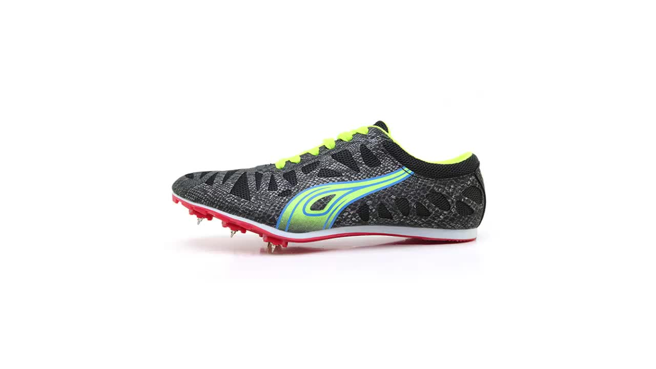 2018 Fashion Design 성인 Track Field Shoes 스파이크 Shoes Sport Running Shoes Size 35-45