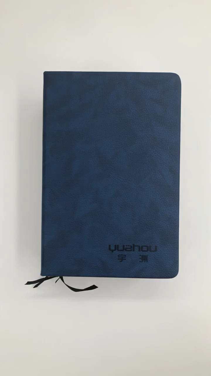 A5 hardcover pu leder blank notebook made in China