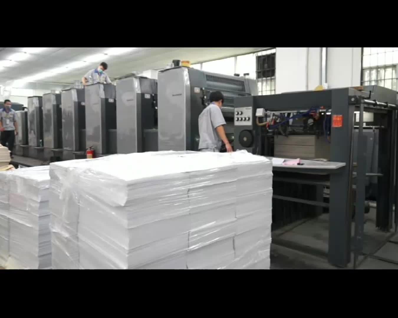 カスタム印刷ロゴ高級段ボールつ折りクラフト容器カートンブランド紙フラット石鹸箱の包装のための窓ギフト