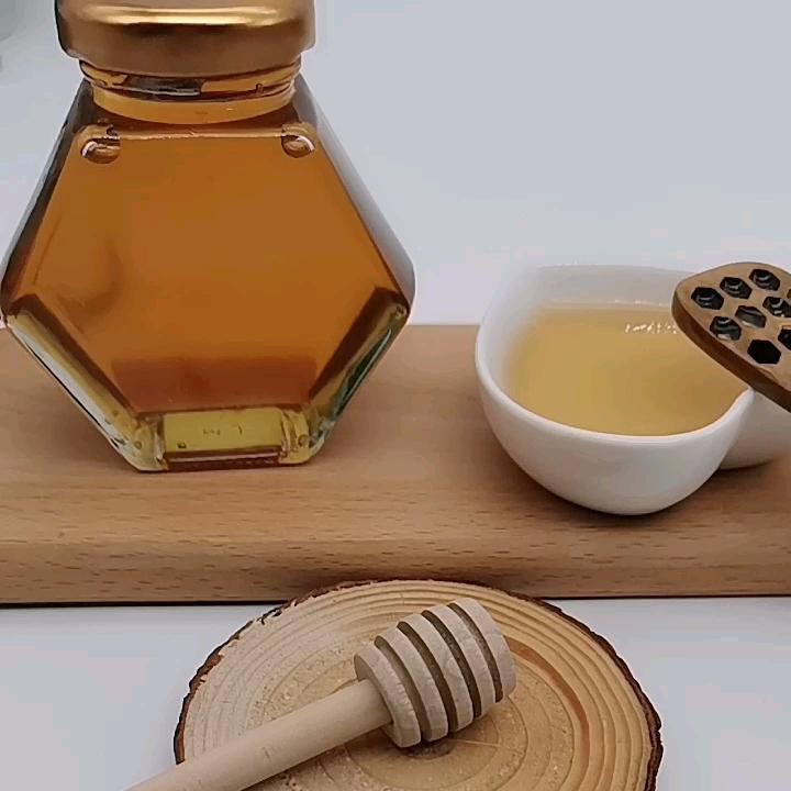 Pure ฮาลาลธรรมชาติน้ำผึ้งแก้ว OEM ฟรี
