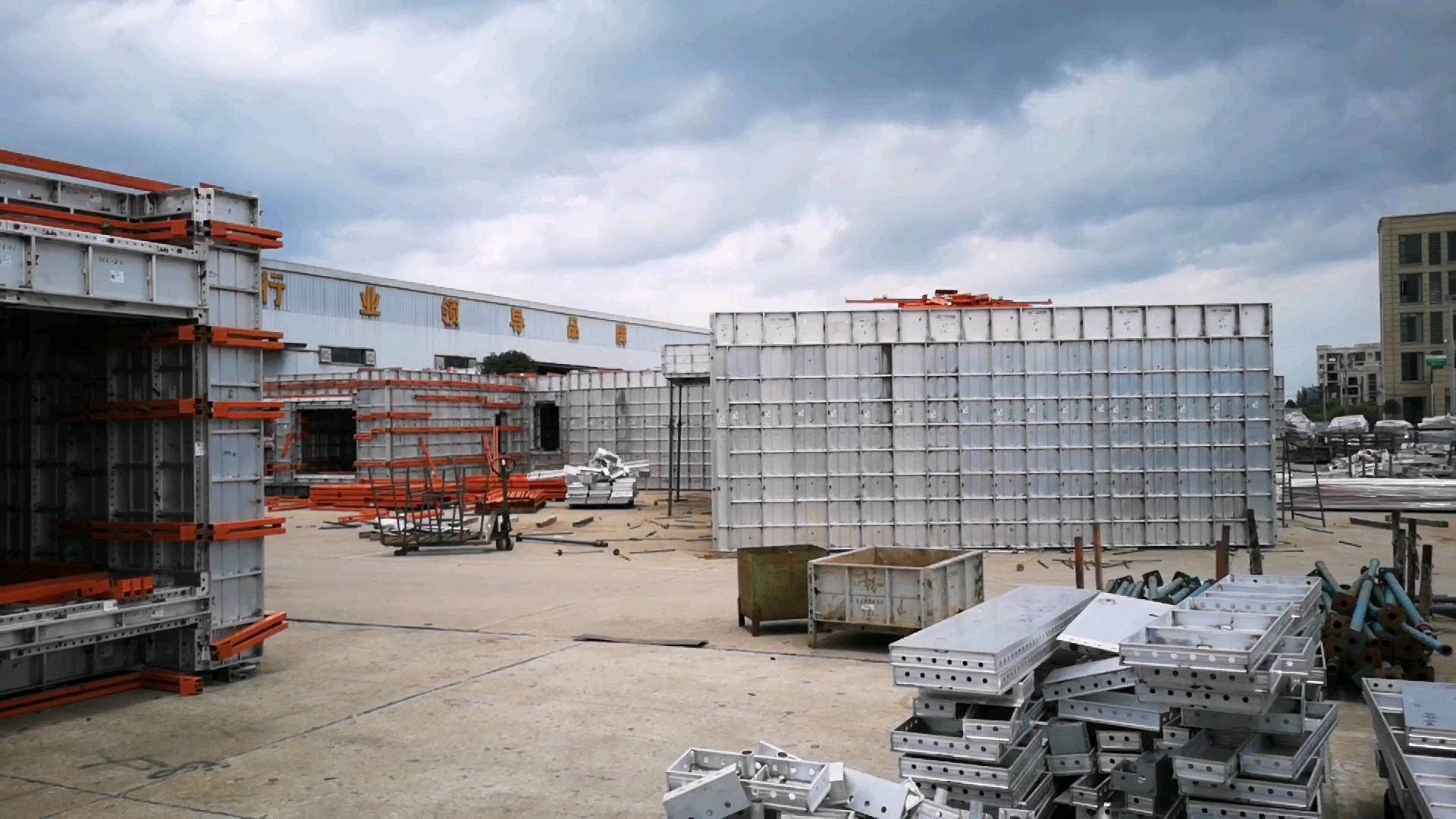 Yüksek yoğunluklu alüminyum kalıpları prekast beton ev bina projesi için