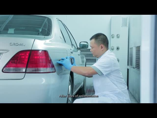 good quality and high tech autocryl for refinishing