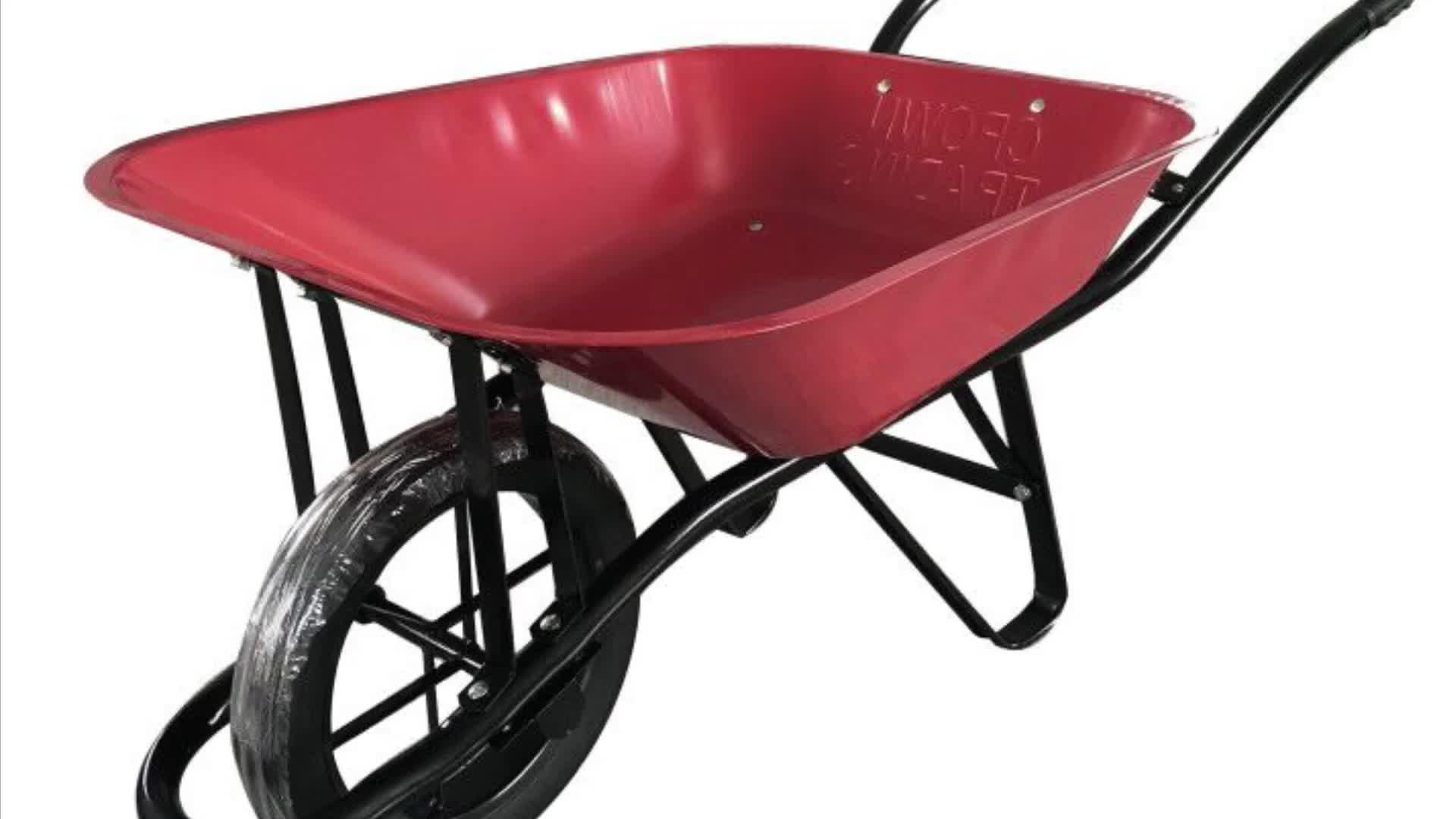 WB6201印尼建筑手推车 物流手推车 工具手推车 wheelbarrow