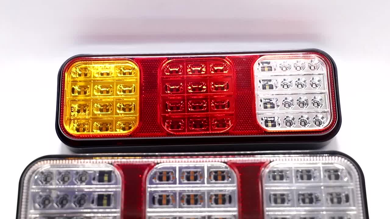 led trailer truck  tail light rear lamps indicator