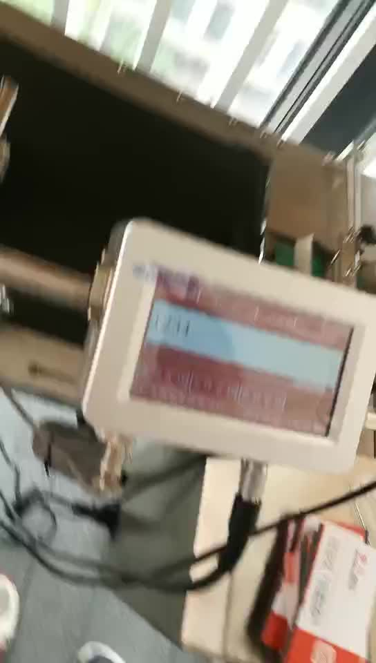 사용기한 Date 잉크젯 코더 Jar 병 Carton Pouch logo coding printer plastic bag batch number printing 기계