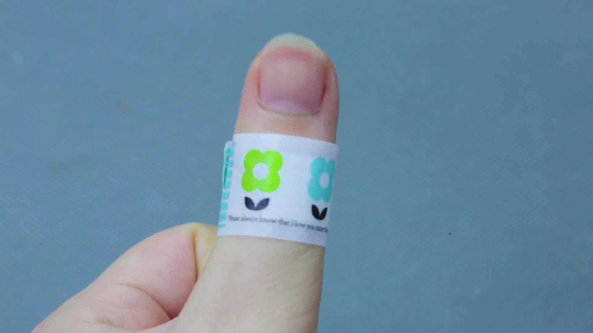 चिकित्सा कार्टून चिपकने वाला प्लास्टर पट्टी