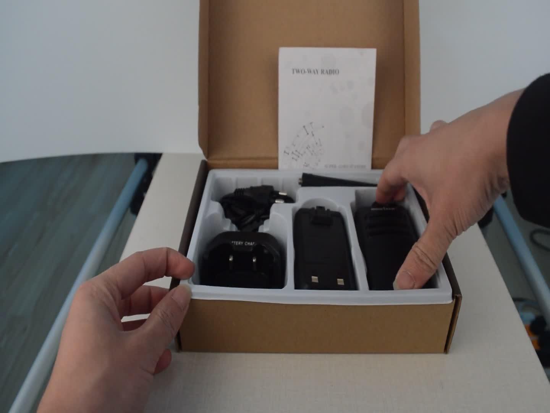 1 par walkie talkie rádio amador móvel portátil sem fio usando para a segurança do restaurante do hotel SOCOTRAN SC-308