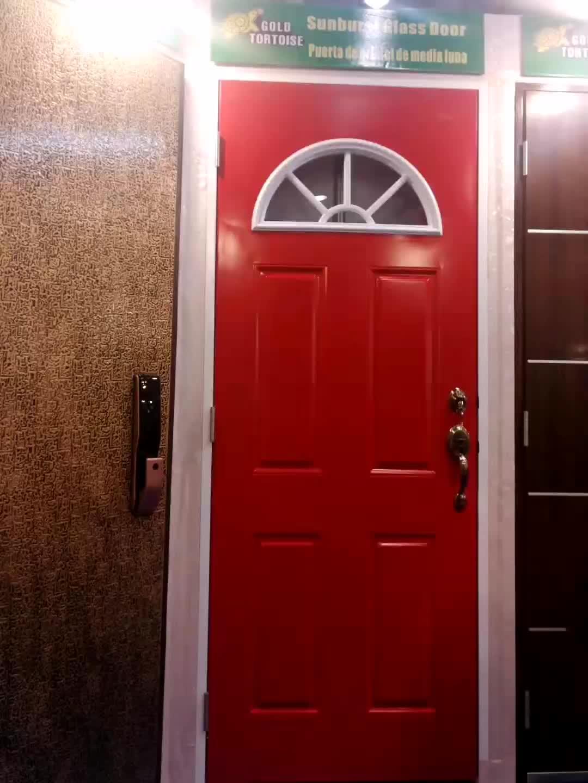 """22""""10"""" Plastic Glass Frame for Doors White color"""