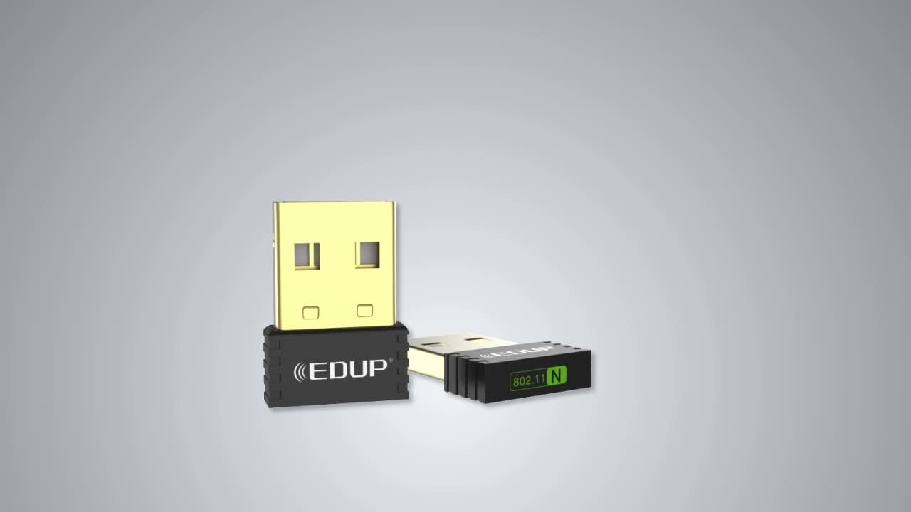 EDUP 150 150mbps メディアテック MT7601 チップセットワイヤレス Usb 無線 Lan アダプタ