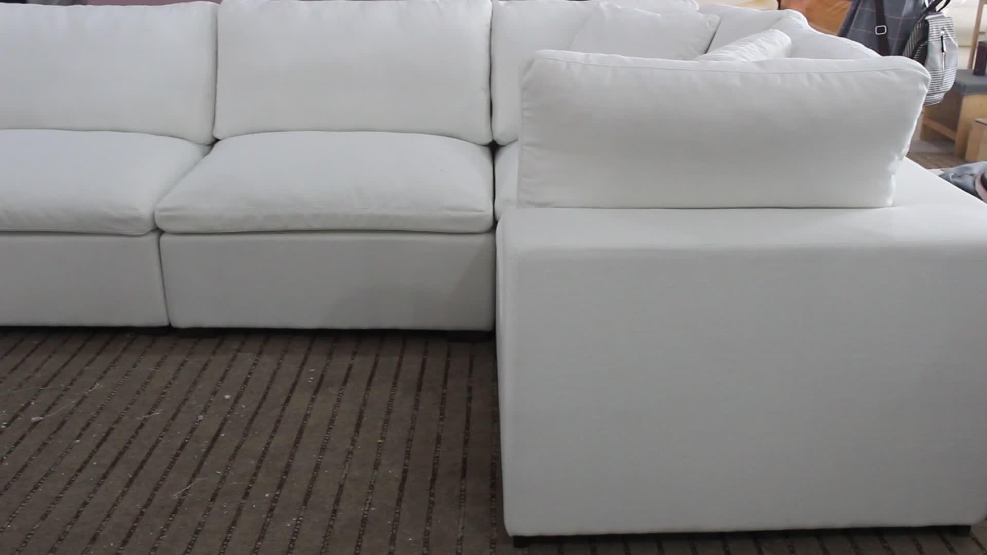 2020 novo design de móveis conjunto de sofá em forma de l sofá, sofá sala de estar sofá moderno