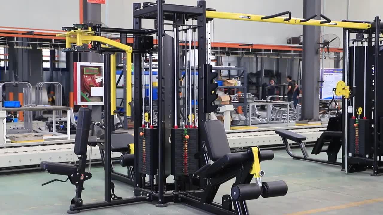 Kommerziellen Verwenden 8 Station Multi Gym Ausrüstung